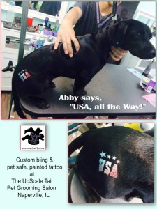 Abby USA tattoo