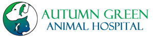 autumn green animal hospital full logo